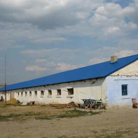 Крыша из кровельного профнастила Т-20