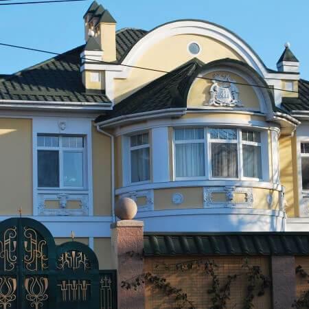 Николаев, крыша из металлочерепицы