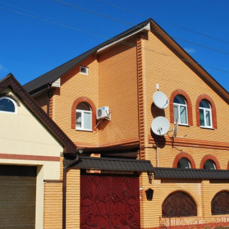 Металлочерепица Ruukki Decorrey в городе Николаев.