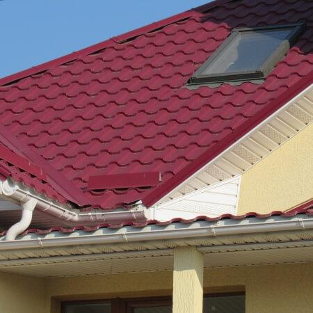 Крыша из металлочерепицы Adamant. Одесса, Дачное