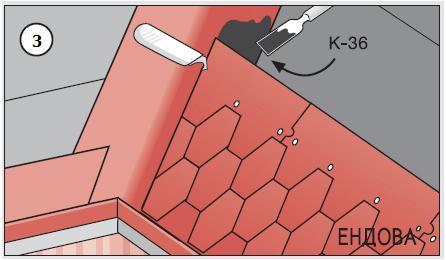 Рисунок - нанесение клея шпателем