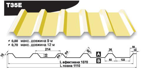 Профнастил T35E
