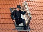 Мансардное окно GXL для выхода на крышу