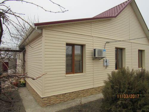Дом в Николаеве - обшивка сайдингом