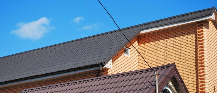 Металлочерепица Ruukki на крыше дома в Соляных