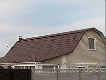 Крыша из металлочерепицы Яспис