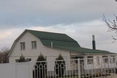 Николаевская область, Степовое. Металлочерепица Яспис